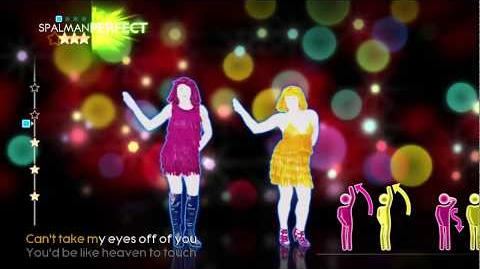 Just Dance 4 Can't Take My Eyes Of You 5 Stars (HD)