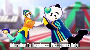 Just Dance Vitality School - Adoration To Happiness Gameplay (Pictograms Only)