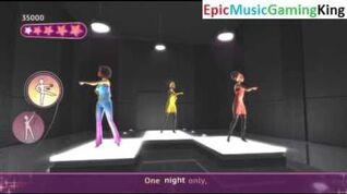 """Dance on Broadway Gameplay - """"One Night Only"""" - High Score Of 73,750 Points"""