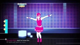 Just Dance 2017 unlimited Girls Just Want To Have Fun 5 stars
