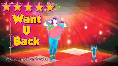 Just Dance 4 - Want U Back - 5* Stars