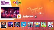 Bang2019 jdnow menu