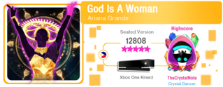 GodIsAWomanALT M617Score