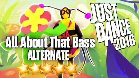 Just Dance 2016 - All About That Bass (Alternate) - 5 stars