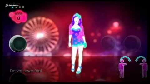 Just Dance 2 Extra Songs Firework, Katy Perry (Solo) 5*
