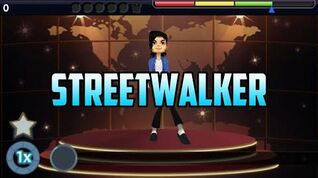 Michael Jackson The Experience PSP - Streetwalker