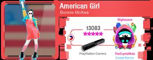 AmericanGirlDLC M617Score