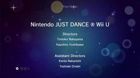 Credits - Just Dance Wii U
