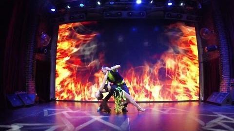 Zouk Dance - Urban Zouk Show at Caribbean Club - Alex & Alyona