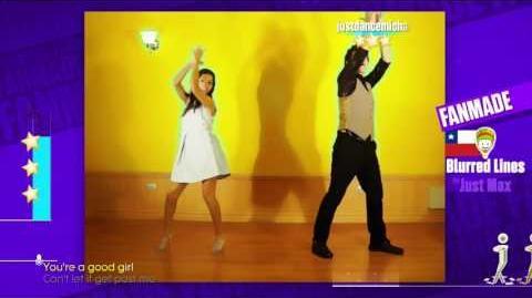 Just Dance 2017 Blurred Lines Fanmade Version 4 stars wii u