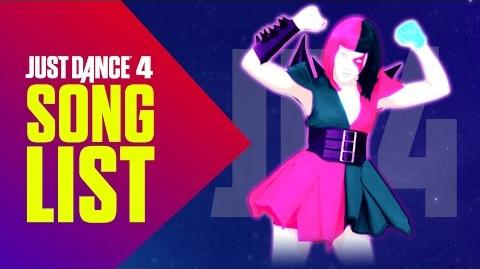 Just Dance 4 Songlist