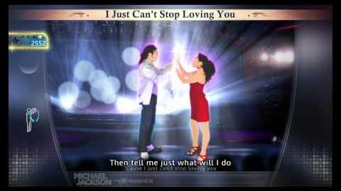Michael Jackson The Experience I Just Can't Stop Loving You (PS3) (FULL HD)
