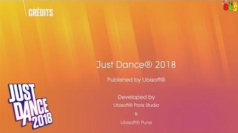 Credits - Just Dance 2018