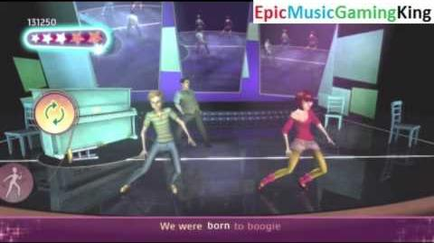 "Dance on Broadway Gameplay - ""We Were Born To Boogie"" - High Score Of 25,500 Points"