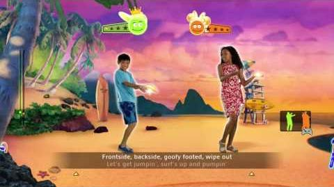 Hawaiian Roller Coaster Ride - Just Dance Disney Party