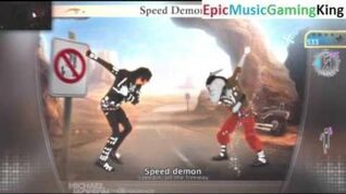 "Michael Jackson The Experience Gameplay - ""Speed Demon"" - High Score Of 782 Points"