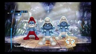 The Smurfs Dance Party Axel Saudinós - Azul