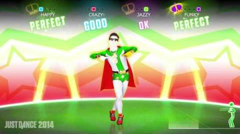 Fedez -- Alfonso Signorini (Eroe Nazionale) Just Dance 2014 Gameplay