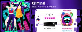 Criminal M617Score