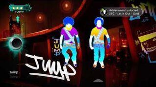 Just Dance Greatest Hits Jump 5 stars Xbox 360