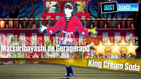 Matsuribayashi de Geragerapō - King Cream Soda Just Dance Yokai Watch