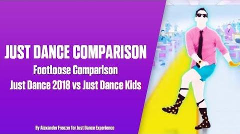 Footloose (Kenny Loggins) - Just Dance 2018 vs Just Dance Kids Comparison
