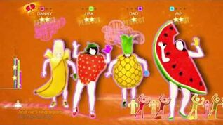 Just Dance 2014 In The Summertime 4 players 5 stars wii u