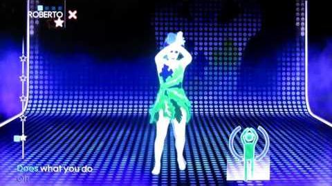 Just Dance 3 BETA Dancer - Jungle Drum - Emiliana Torrini