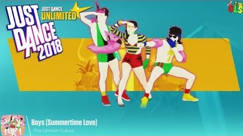 Boys (Summertime Love) - Just Dance 2018