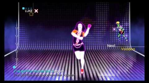 Just Dance 4 Puppet Master Mode - Moves Like Jagger (JD3 Dancers Only)