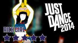 Just Dance 2014 Rich Girl 5* Stars