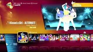 Just dance 2018 (Unlimited) I Kissed Girl (SING ALONG)