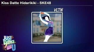 Kiss Datte Hidarikiki - SKE48 Just Dance Wii U