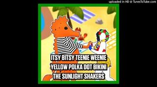 The Sunlight Shakers - Itsy Bitsy Teenie Weenie Yellow Polka Dot Bikini