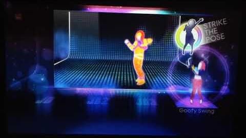 Just Dance 4 - Never Gonna Give You Up Puppet Master Mode (Gamepad View) (Wii U)