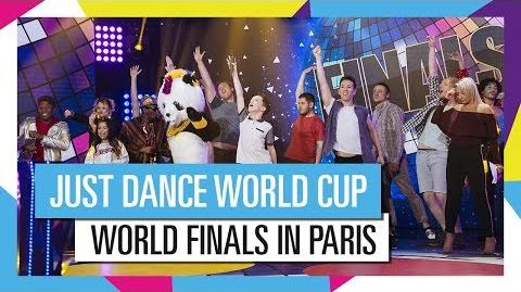 JUST DANCE WORLD CUP FINALS