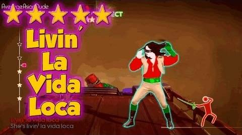 Just Dance 4 - Livin' La Vida Loca - 5* Stars