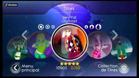 Just Dance Best Of (Menu)