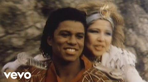 Jermaine Jackson, Pia Zadora - When the Rain Begins to Fall