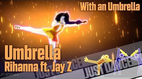 Umbrella (With an Umbrella) - Rihanna ft