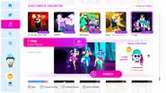 7 rings - Меню Just Dance 2019