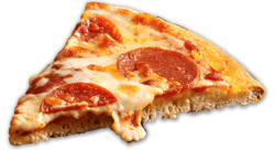 Pepperonipizza transparent