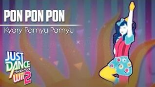 Just Dance Wii 2 PON PON PON