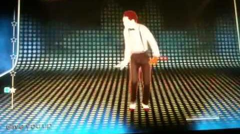 Just dance 4never gonna give you up mashup