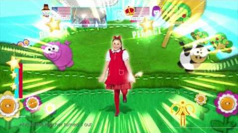 Just Dance 2016 Mary Had A Little Lamb WVC 5 stars wii u