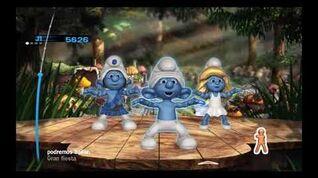 The Smurfs Dance Party Carlos Salamanca - Gran Fiesta Pitufa