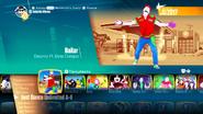 Bailar jd2018 menu