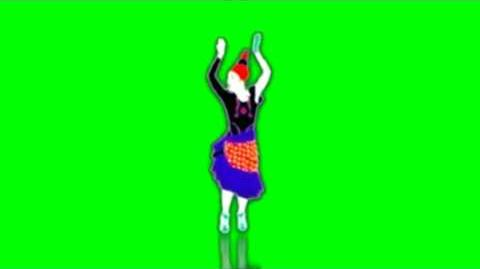 Just Dance Now - Marcia Baila Green Screen Extraction