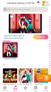 Hungariandance jdnow menu phone 2020