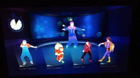 Just Dance 2014 - Gentleman Party Master Mode (Gamepad View) (Wii U) (Version 2)